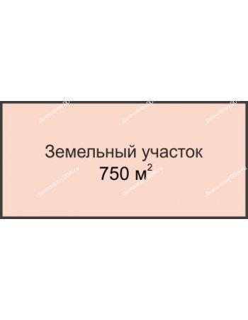 Студия 750 м² в КП Всевеликого Войска Донского, дом Участок № 53, 750 м²