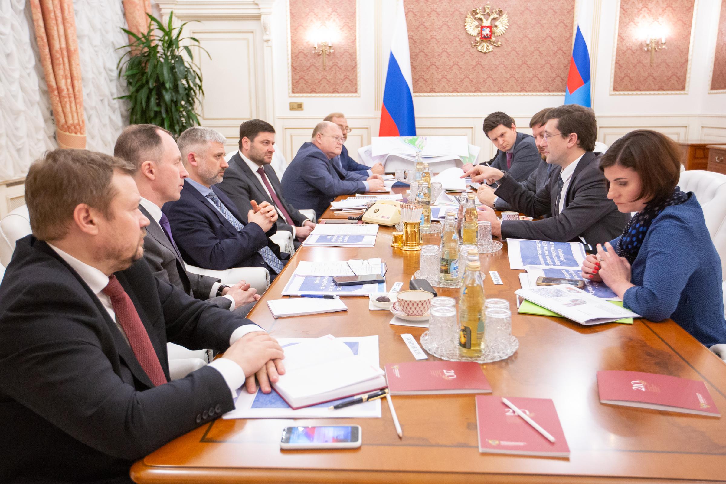 Рабочую группу по вопросам строительства гидроузла создадут нижегородское правительство и Минтранс РФ