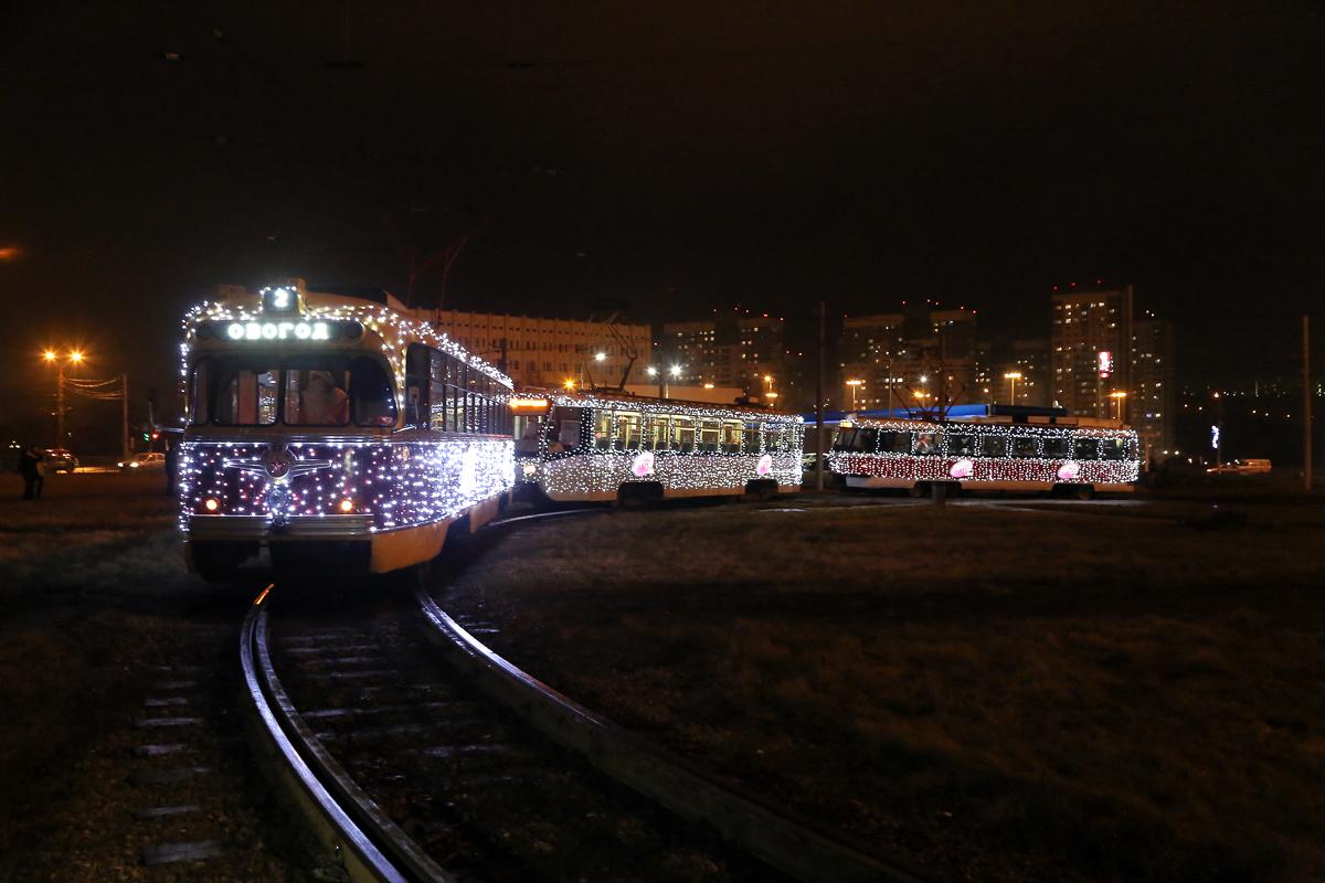 В честь Нового Года для нижегородцев запустят праздничные трамваи - фото 1