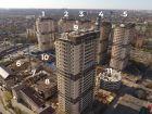 Ход строительства дома Литер 9 в ЖК Звезда Столицы - фото 4, Май 2021