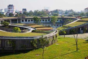 Спиралевидный детский сад во Вьетнаме