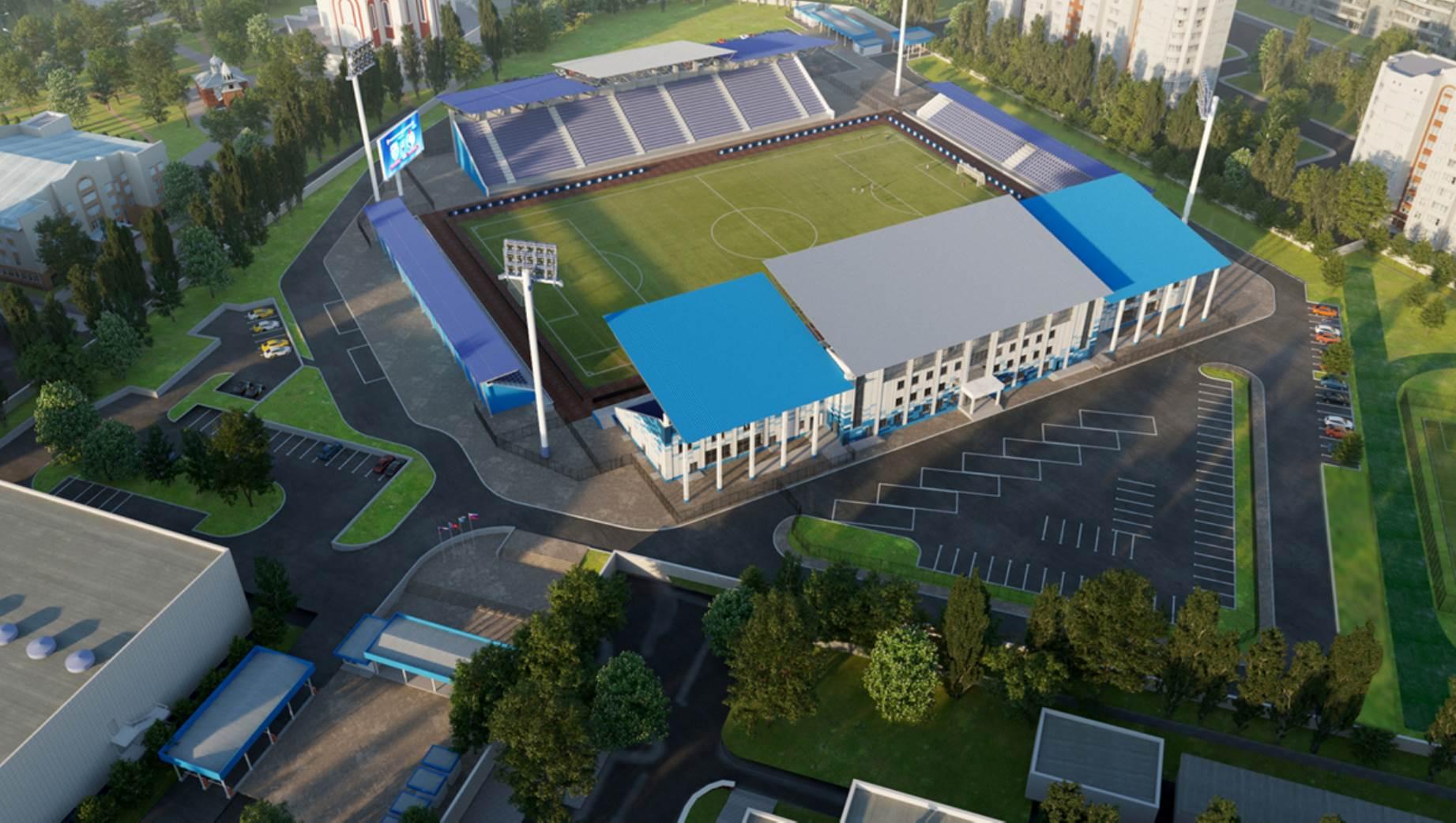 Реконструкция стадиона «Факел» - фото 1