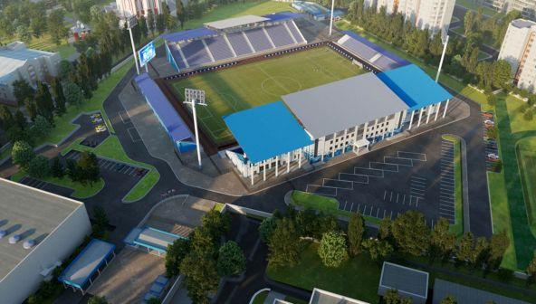 Реконструкция стадиона «Факел»