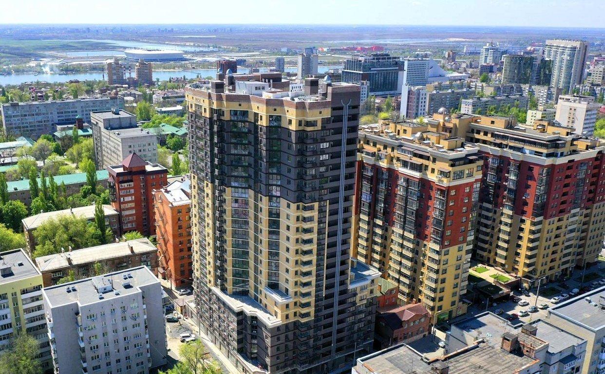 Четыре многоквартирных дома сдали ростовские застройщики за июль