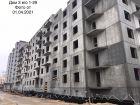 Ход строительства дома № 3 в ЖК Корабли - фото 22, Апрель 2021