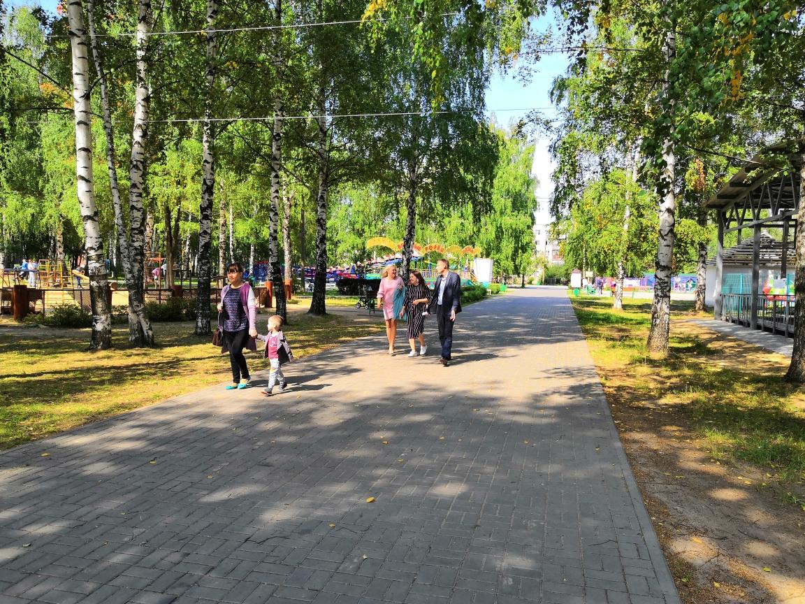 Жители Кстово добились благоустройства детского парка