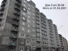 Ход строительства дома № 3 в ЖК Корабли - фото 28, Апрель 2021