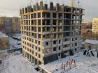 Ход строительства дома № 1 второй пусковой комплекс в ЖК Маяковский Парк - фото 64, Январь 2021