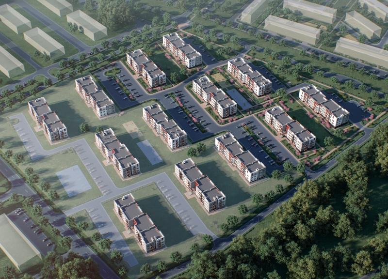Дом №1, Индустриальная улица в ЖК Окский берег - фото 2
