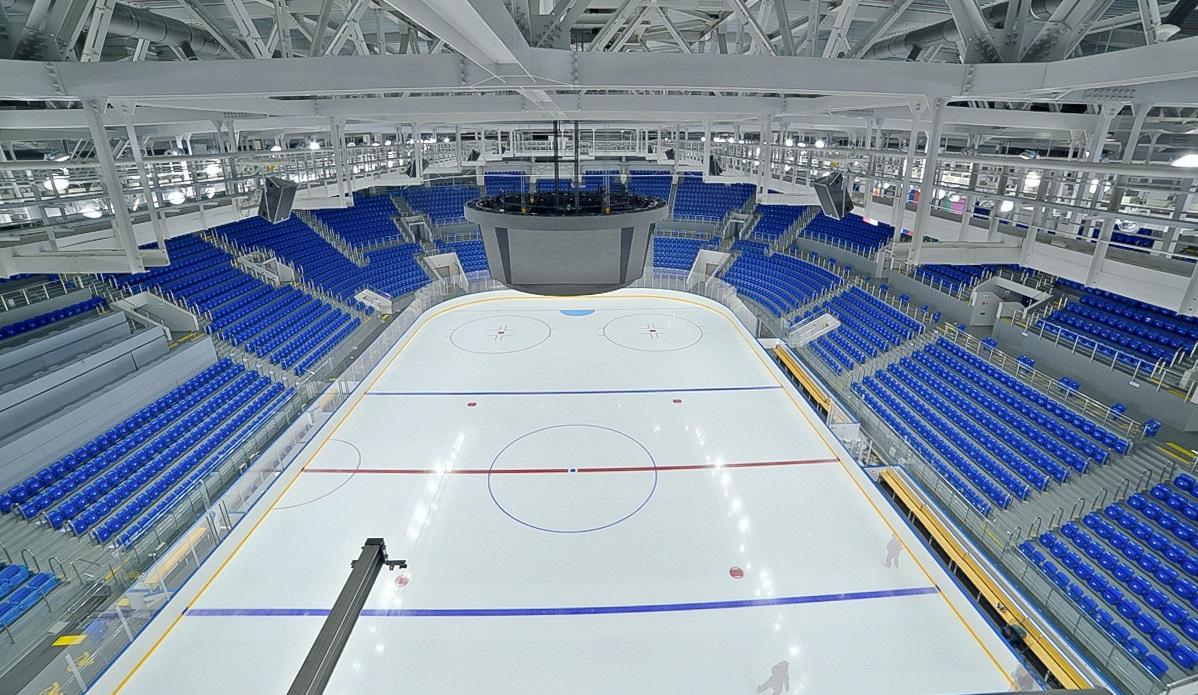 Строительство нового ледового дворца на Стрелке планируется начать осенью 2019 года