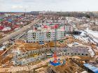Ход строительства дома № 5 в ЖК Ватсон - фото 31, Апрель 2021