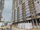 Ход строительства дома Литер 1 в ЖК Первый - фото 101, Июль 2018