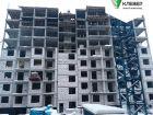 Ход строительства дома № 2 в ЖК Клевер - фото 82, Январь 2019