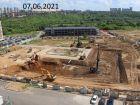 Ход строительства дома № 12 в ЖК Новая Кузнечиха - фото 6, Июнь 2021