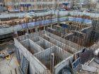 ЖК Каскад на Менделеева - ход строительства, фото 31, Декабрь 2019