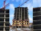 ЖК Южная Башня - ход строительства, фото 77, Февраль 2018