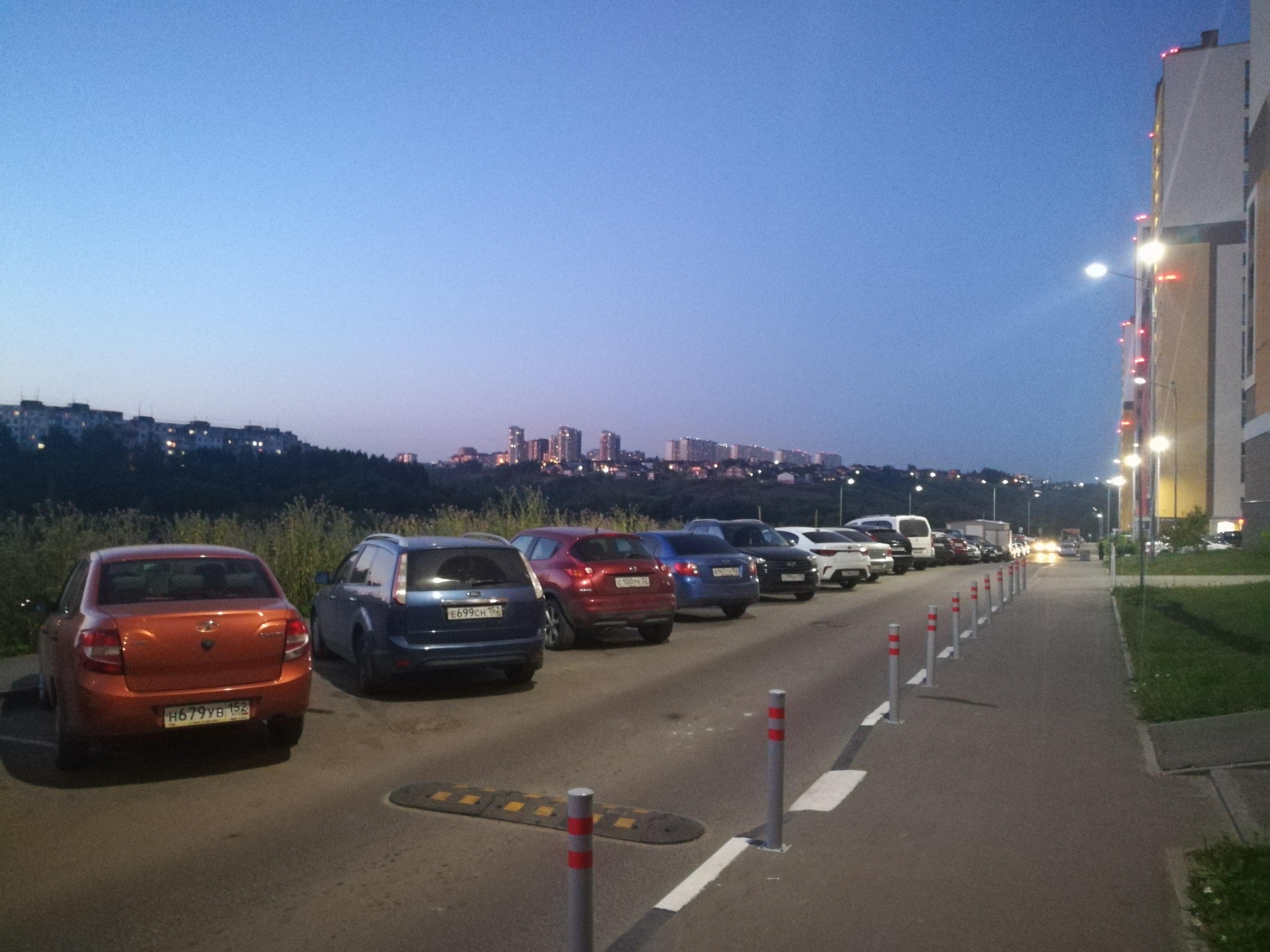 Нижегородцы смогут оплатить парковку за целый год - фото 1