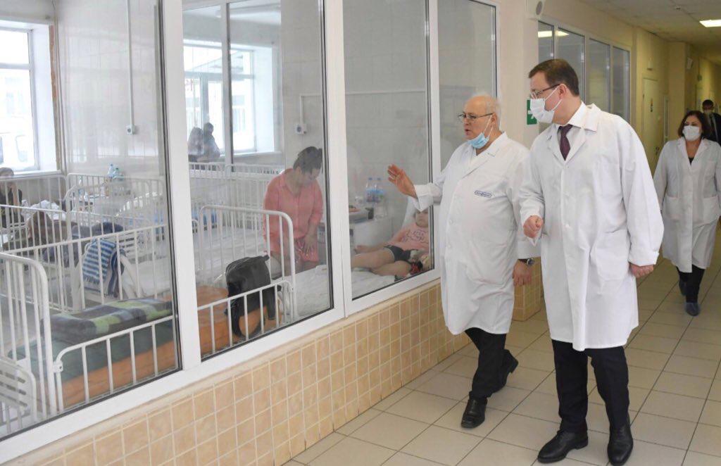 Новый корпус детской инфекционной больницы построят в Самаре