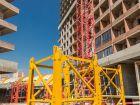 Ход строительства дома Литер 1 в ЖК Первый - фото 129, Март 2018