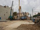 ЖК Островский - ход строительства, фото 119, Сентябрь 2018