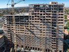 Ход строительства дома № 1 в ЖК Встреча - фото 34, Октябрь 2019