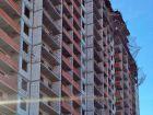 Ход строительства дома № 1 корпус 1 в ЖК Жюль Верн - фото 94, Февраль 2016