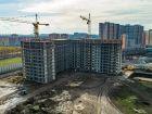 Ход строительства дома Литер 3 в ЖК Самолет 2 - фото 22, Ноябрь 2020