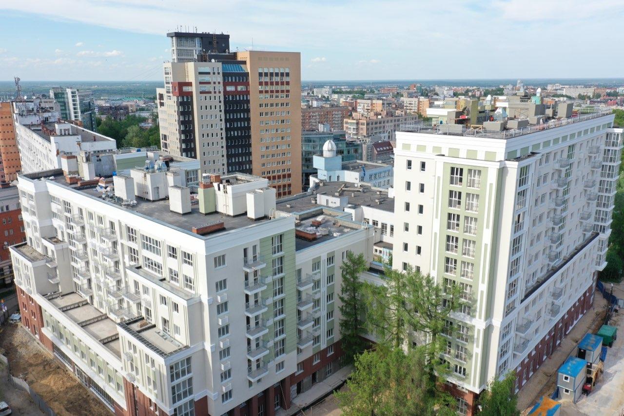 Объемы ввода индивидуального жилья по итогам первой половины 2021 года стали рекордными