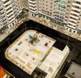 Ход строительства дома № 1 в ЖК Карамель -