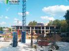 Ход строительства дома № 1 в ЖК Клевер - фото 114, Август 2018