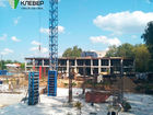 Ход строительства дома № 2 в ЖК Клевер - фото 116, Август 2018