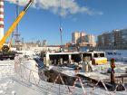 Ход строительства дома № 1 в ЖК Корица - фото 61, Февраль 2021