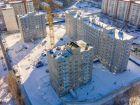 Ход строительства дома № 6 в ЖК Мончегория - фото 5, Январь 2019