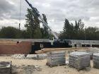 Ход строительства дома № 1 в ЖК Удачный 2 - фото 162, Сентябрь 2018