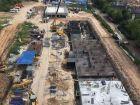 Ход строительства дома № 2 в ЖК Дома на Культуре - фото 8, Август 2021